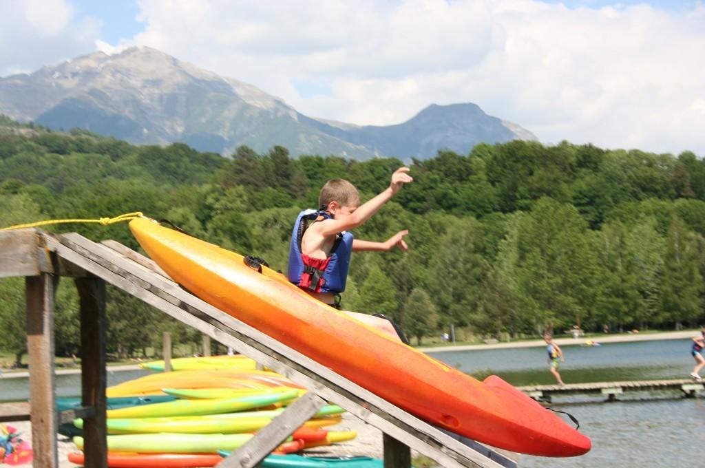 Kayak classe de découverte Chabotonnes