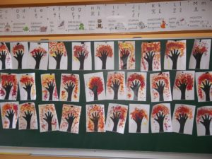 nos arbres  en peinture